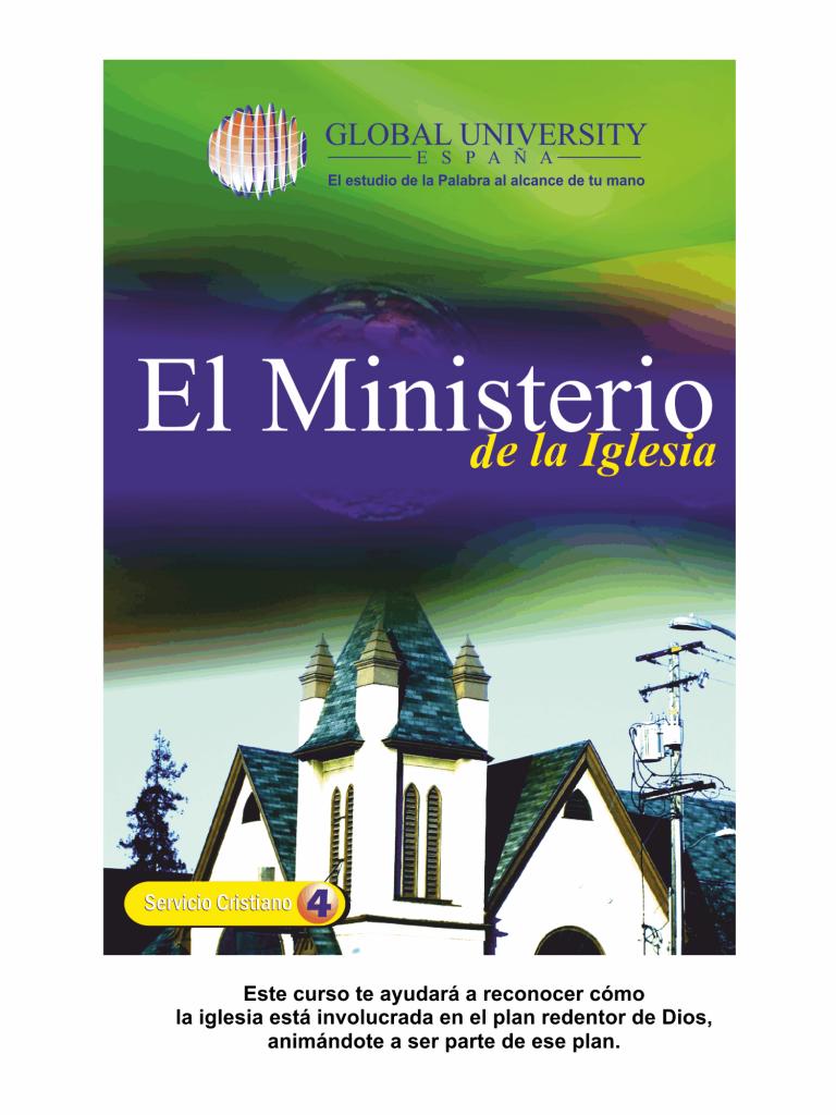 Portadas para web Servicio cristiano 2017 el ministerio de la iglesia