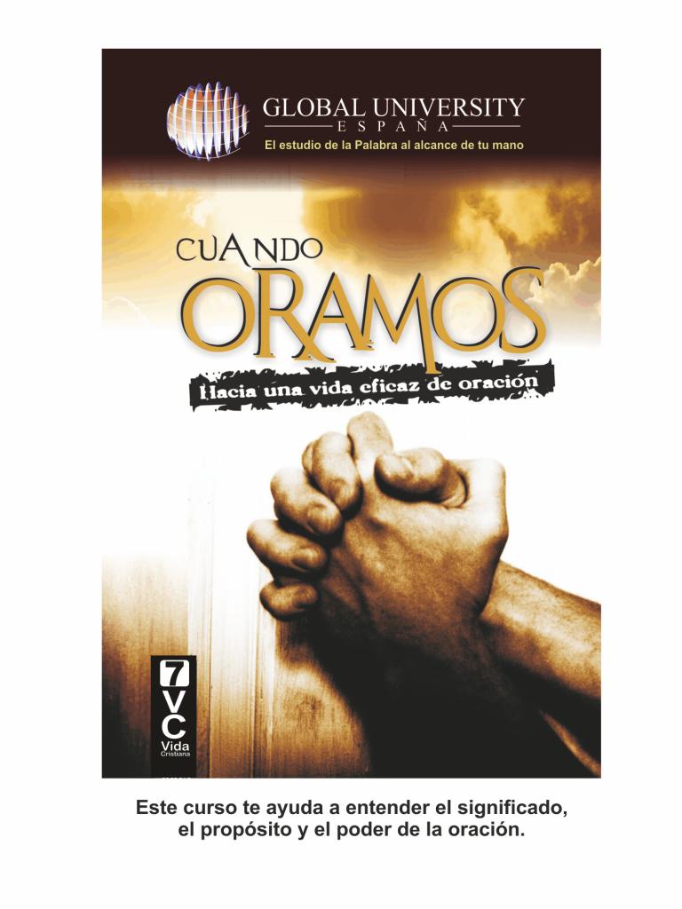 portadas para web vida cristiana CUANDO ORAMOS
