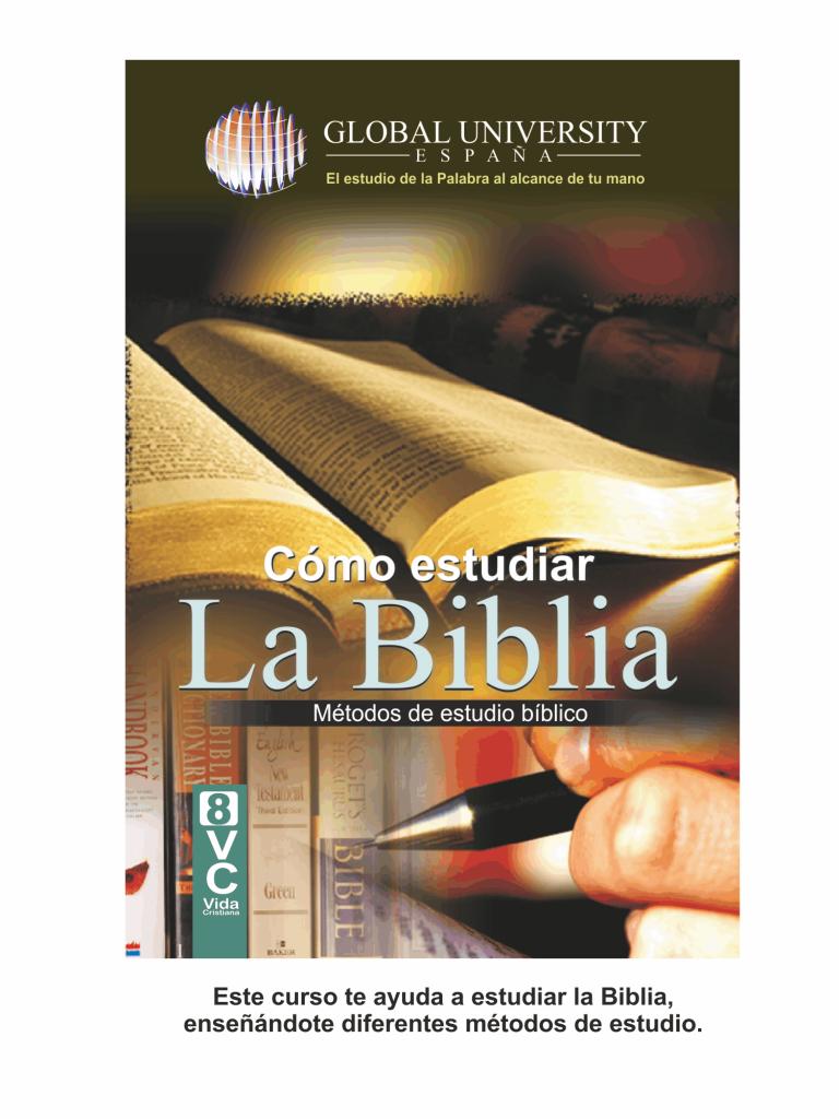 portadas para web vida cristiana Como estudiar la biblia