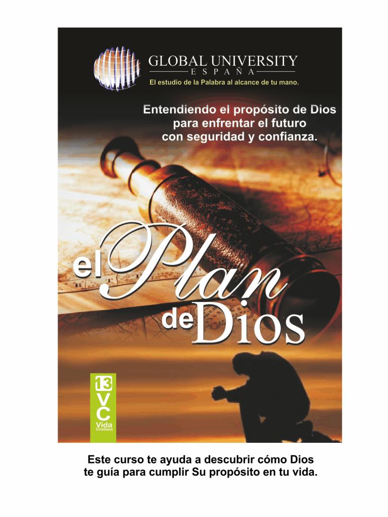 portadas para web vida cristiana el plan de Dios