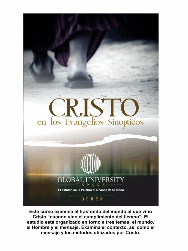 cristo en los evangeliso sinopticos