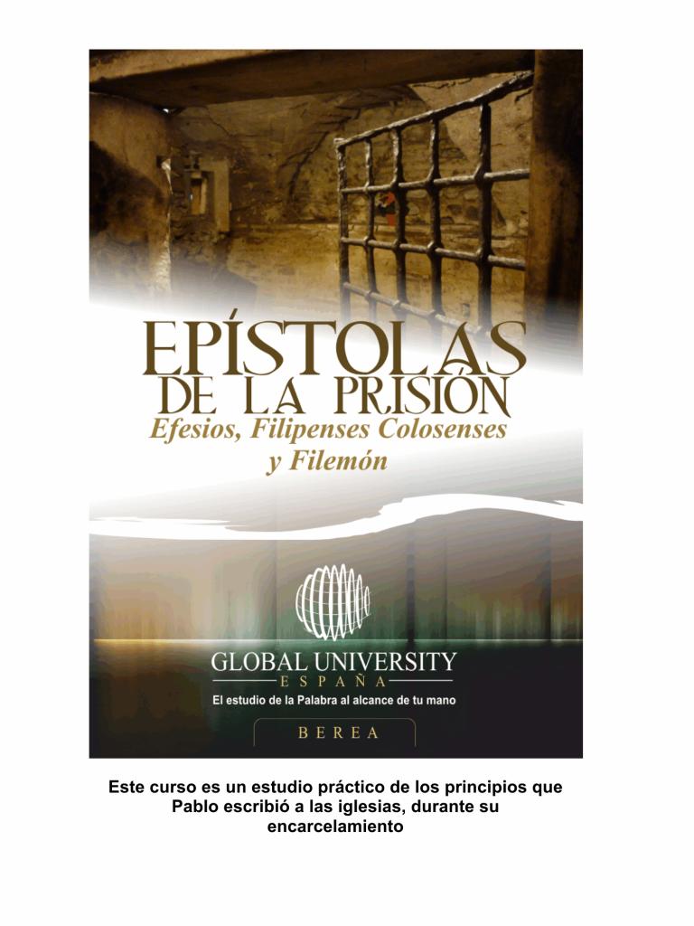 epistolas de la prision
