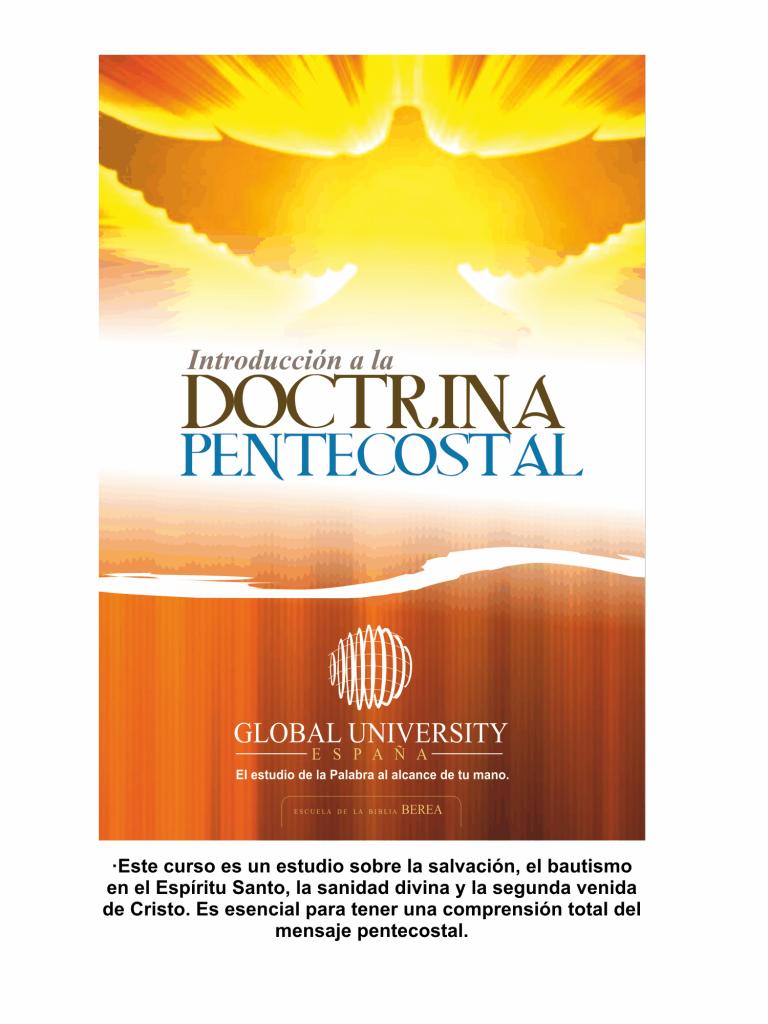 introduccion a la doctrina pentecostal